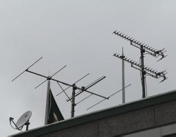 宇田八木天线,可以实现150公里信号接收