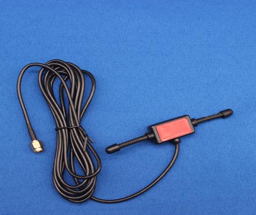 3G/4G/5G天线-4G SMA 公头红色羊角天线